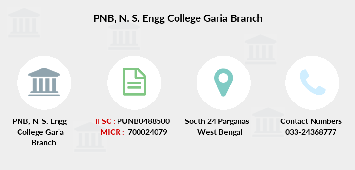 Punjab-national-bank N-s-engg-college-garia branch