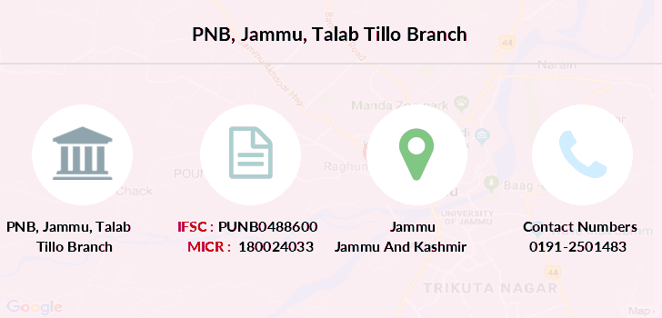 Punjab-national-bank Jammu-talab-tillo branch