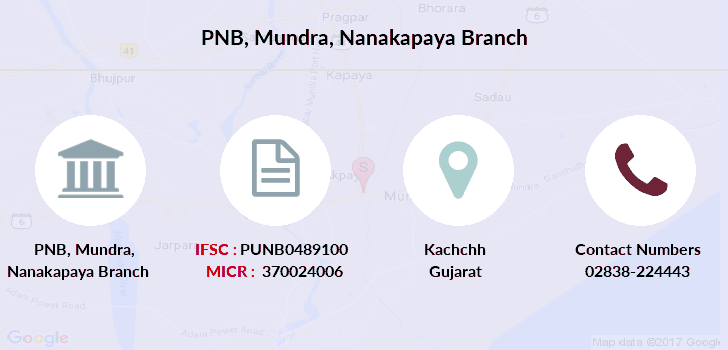 Punjab-national-bank Mundra-nanakapaya branch