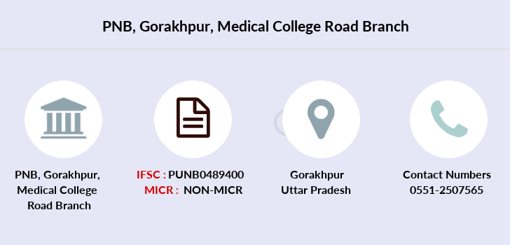 Punjab-national-bank Gorakhpur-medical-college-road branch