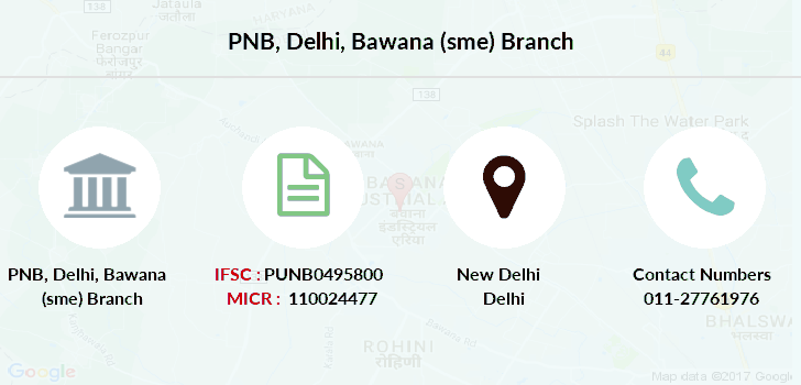 Punjab-national-bank Delhi-bawana-sme branch