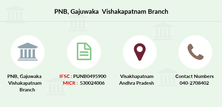 Punjab-national-bank Gajuwaka-vishakapatnam branch