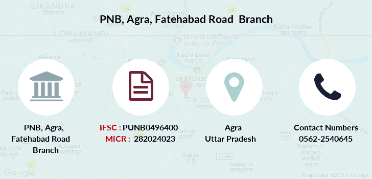 Punjab-national-bank Agra-fatehabad-road branch