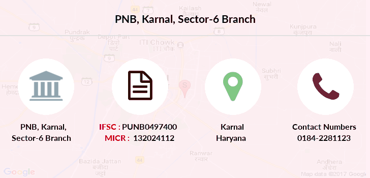 Punjab-national-bank Karnal-sector-6 branch