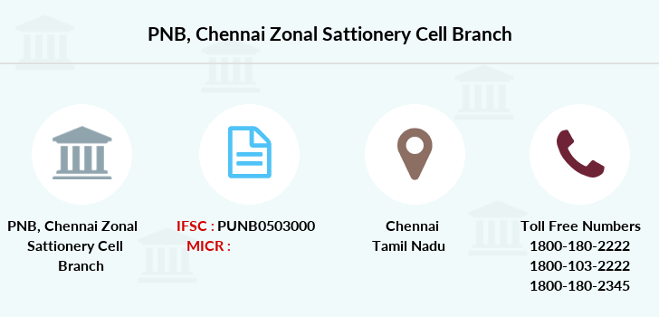 Punjab-national-bank Chennai-zonal-sattionery-cell branch