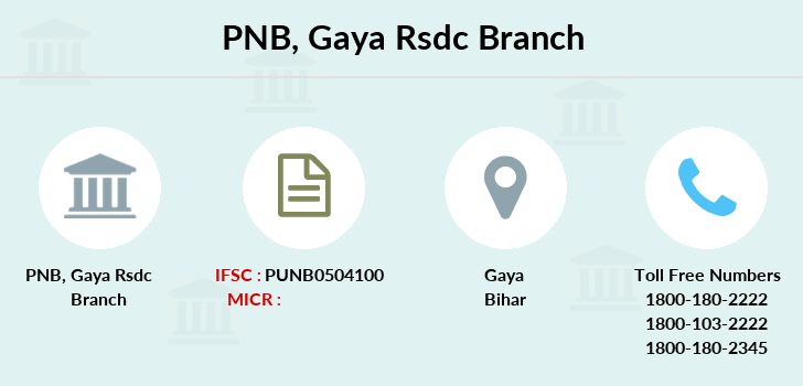 Punjab-national-bank Gaya-rsdc branch