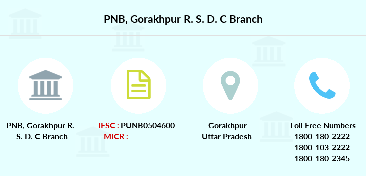 Punjab-national-bank Gorakhpur-r-s-d-c branch