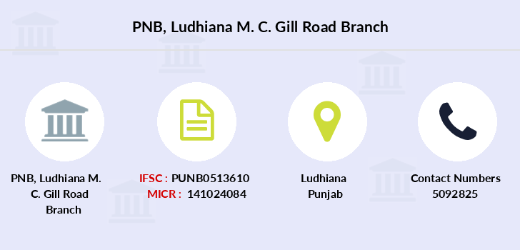 Punjab-national-bank Ludhiana-m-c-gill-road branch