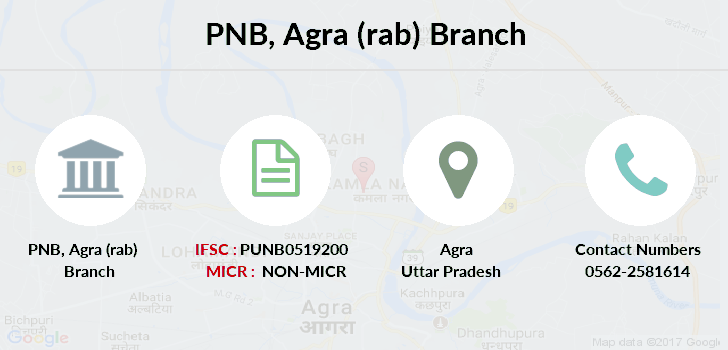 Punjab-national-bank Agra-rab branch