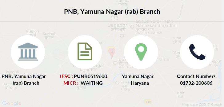 Punjab-national-bank Yamuna-nagar-rab branch