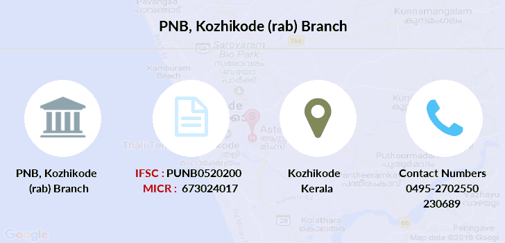Punjab-national-bank Kozhikode-rab branch