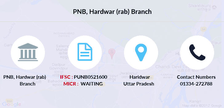 Punjab-national-bank Hardwar-rab branch