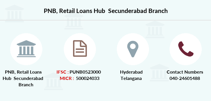 Punjab-national-bank Retail-loans-hub-secunderabad branch