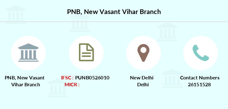 Punjab-national-bank New-vasant-vihar branch