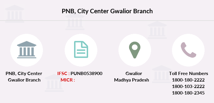 Punjab-national-bank City-center-gwalior branch