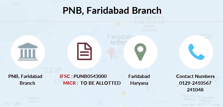 Punjab-national-bank Faridabad branch
