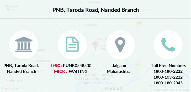 Punjab-national-bank Taroda-road-nanded branch