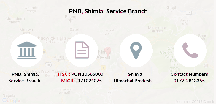 Punjab-national-bank Shimla-service-branch branch