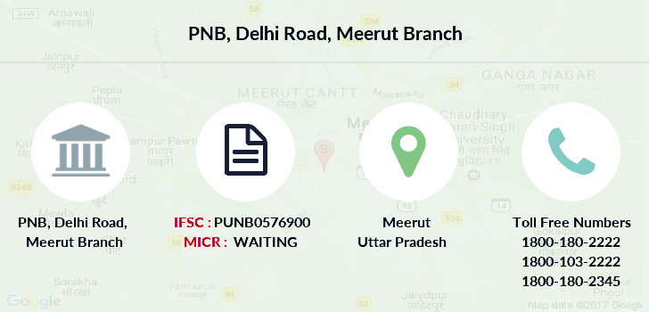 Punjab-national-bank Delhi-road-meerut branch