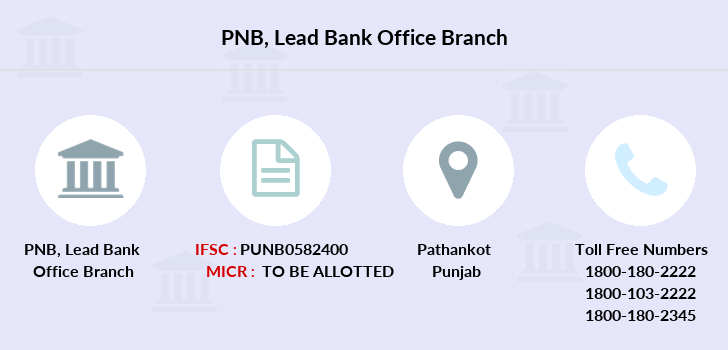 Punjab-national-bank Lead-bank-office branch