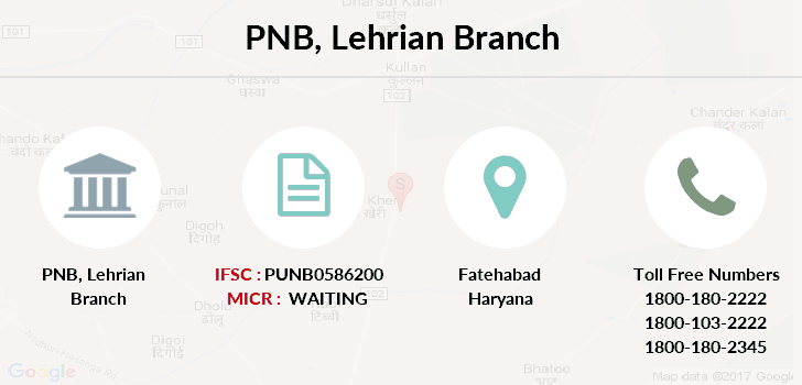 Punjab-national-bank Lehrian branch