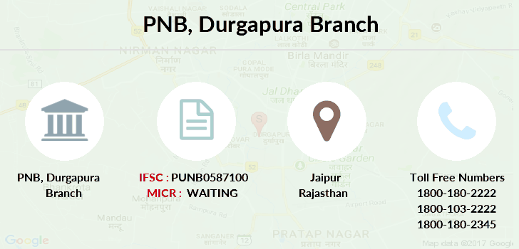 Punjab-national-bank Durgapura branch