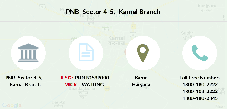 Punjab-national-bank Sector-4-5-karnal branch