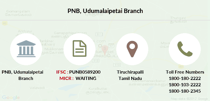 Punjab-national-bank Udumalaipetai branch