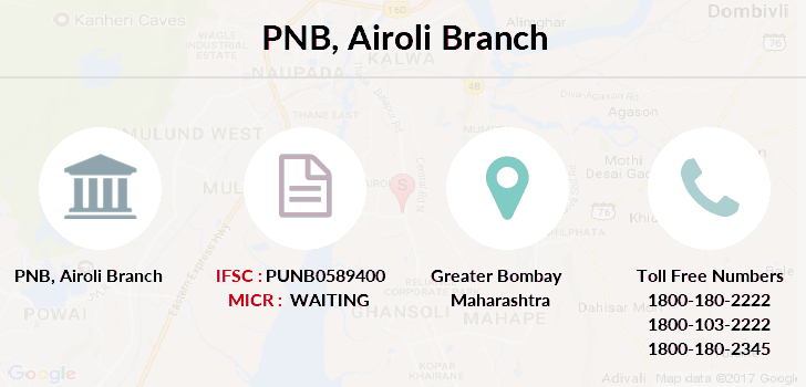 Punjab-national-bank Airoli branch