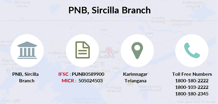 Punjab-national-bank Sircilla branch