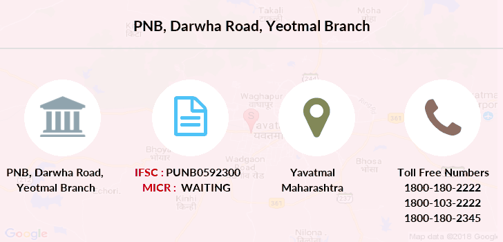 Punjab-national-bank Darwha-road-yeotmal branch