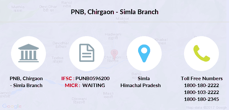 Punjab-national-bank Chirgaon-simla branch