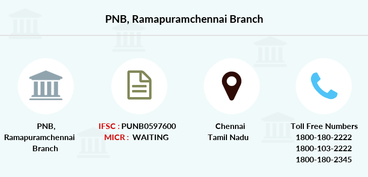 Punjab-national-bank Ramapuramchennai branch