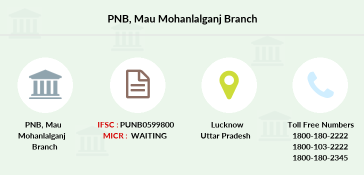 Punjab-national-bank Mau-mohanlalganj branch