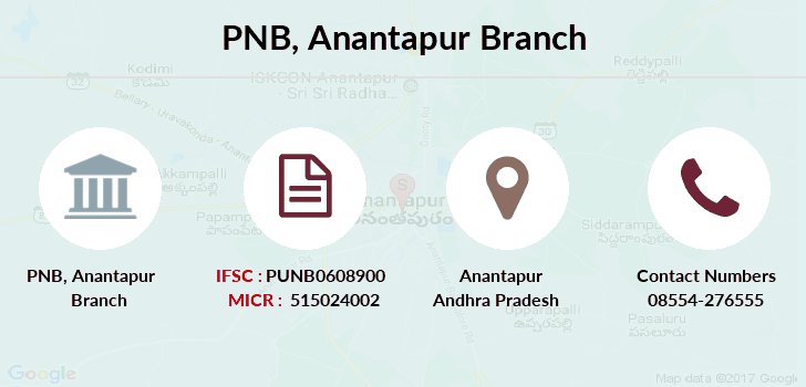 Punjab-national-bank Anantapur branch
