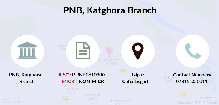 Punjab-national-bank Katghora branch