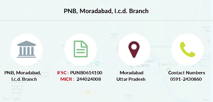 Punjab-national-bank Moradabad-i-c-d branch