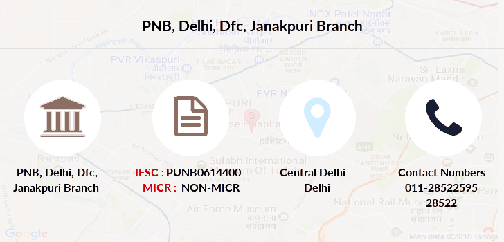 Punjab-national-bank Delhi-dfc-janakpuri branch