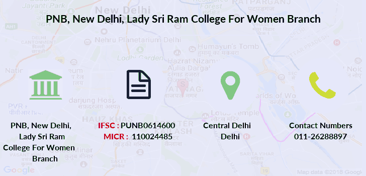Punjab-national-bank New-delhi-lady-sri-ram-college-for-women branch