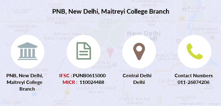 Punjab-national-bank New-delhi-maitreyi-college branch