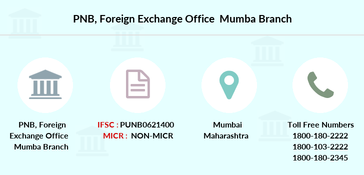 Punjab-national-bank Foreign-exchange-office-mumba branch
