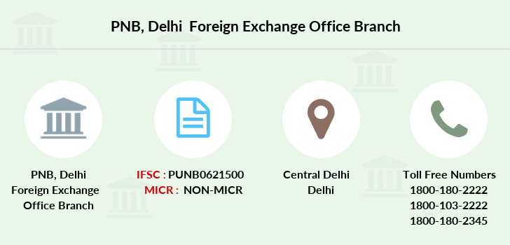 Punjab-national-bank Delhi-foreign-exchange-office branch