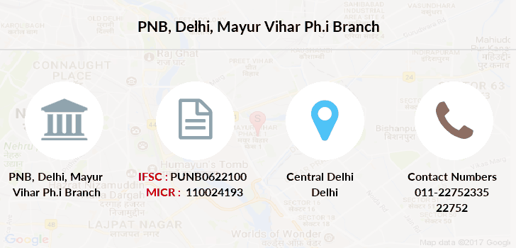 Punjab-national-bank Delhi-mayur-vihar-ph-i branch