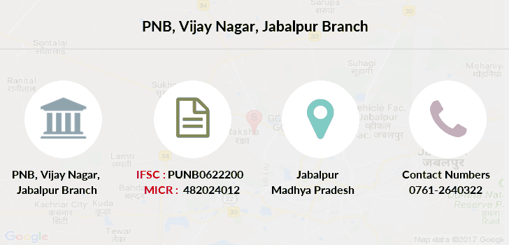 Punjab-national-bank Jabalpur-vijaynagar branch