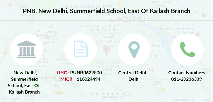 Punjab-national-bank New-delhi-summerfield-school-east-of-kailash branch