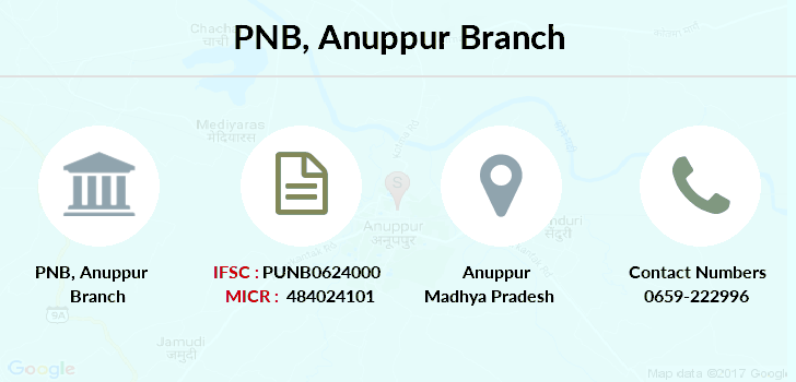 Punjab-national-bank Anuppur branch