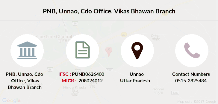 Punjab-national-bank Unnao-cdo-office-vikas-bhawan branch