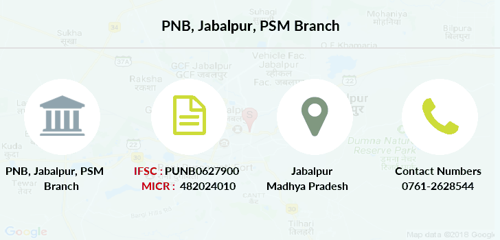 Punjab-national-bank Jabalpur-psm branch