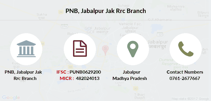 Punjab-national-bank Jabalpur-jak-rrc branch