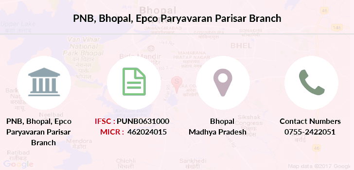 Punjab-national-bank Bhopal-epco-paryavaran-parisar branch